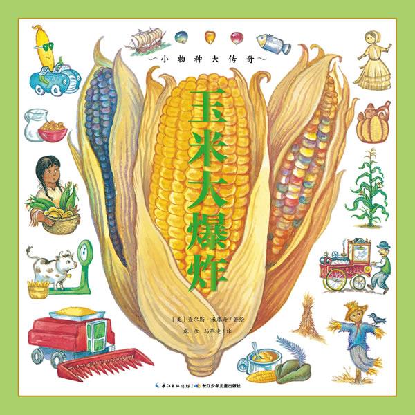 正版包邮 玉米大爆炸 查尔斯·米库奇绘 书店 儿童小说书籍