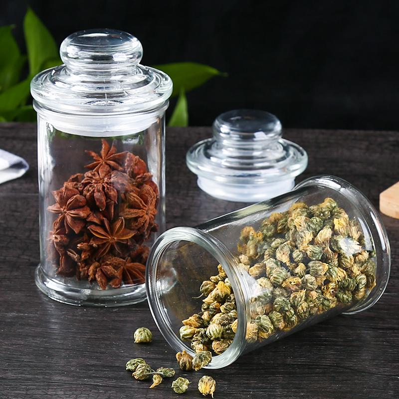 Печать стекло чай пот среда не прозрачный волна портативный чай хранение бак генерал Er чай бак депозит чай бак чаинка бак