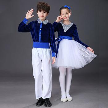儿童合唱服中小学生合唱团元旦礼服