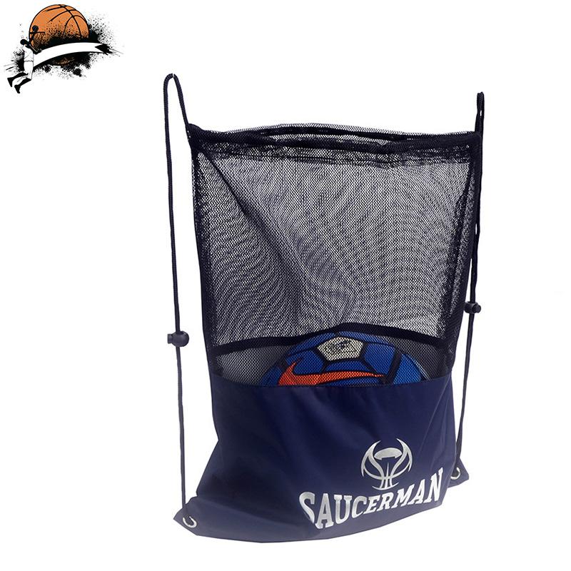 篮球包抽绳儿童足球袋学生篮球袋网兜训练包运动收纳袋双肩网袋