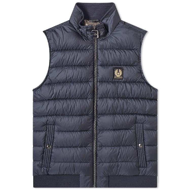 Belstaff circle down gilet jacket mens casual jacket vest vest vest
