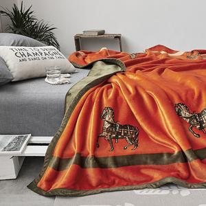【双层轻奢】高品质云毯北欧毛毯法兰绒珊瑚绒毯子加厚秋冬休闲毯