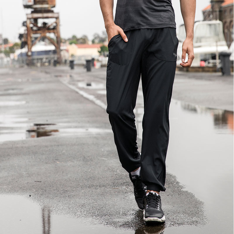 Running show sports pants mens loose fitness leisure sports outdoor fast drying breathable running non stick