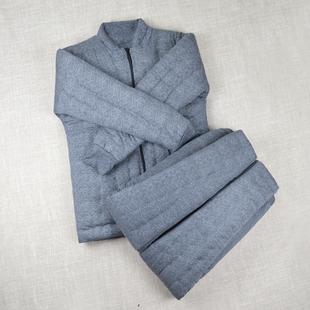 男女大人中老年棉袄棉裤 手工纯棉花棉衣套装 保暖加厚内胆修身 外套