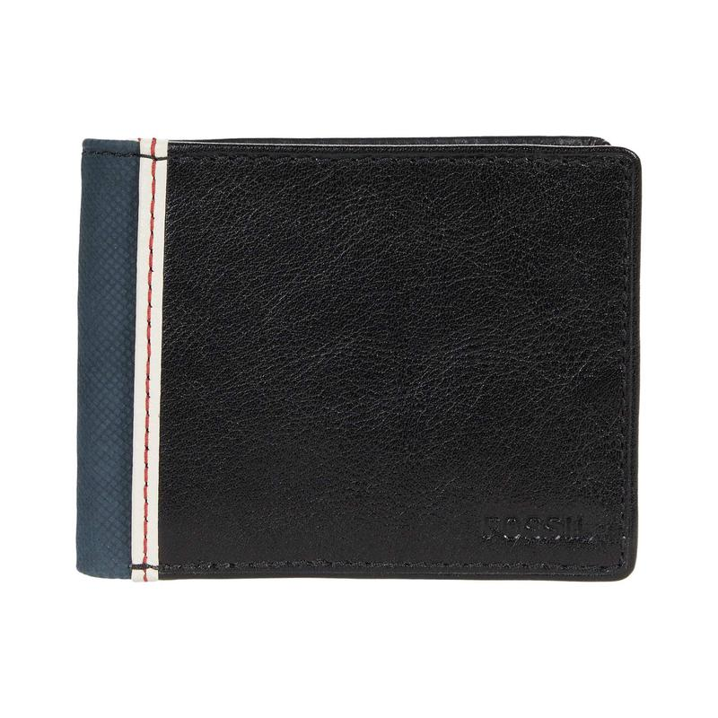 Overseas purchase of fossil Elgin Bifold double fold mens wallet