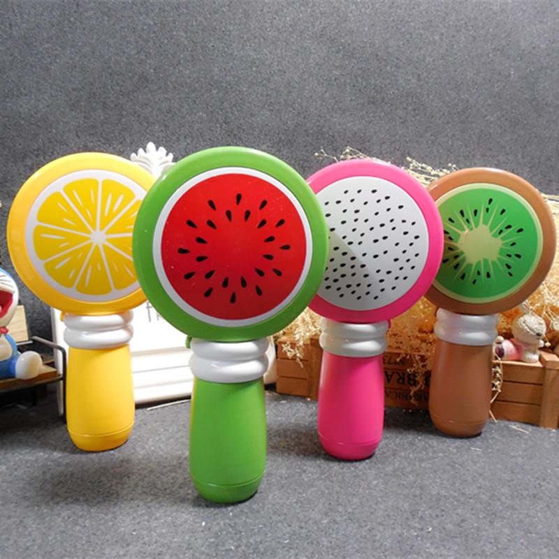 迷你小电风扇卡通水果风扇可爱便携学生儿童生日礼物随身户外旅游