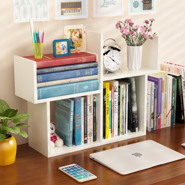 Рабочий стол маленькая книга полка легко стол на мини книжная полка простой современный студент книжный шкаф ребенок письменный стол стенды хранение полка