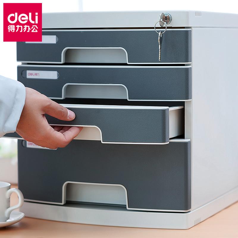 Deli эффективный рабочий стол для хранения файлов в шкафу для документов с 4-слойным пластиковым корпусом органайзер a 8854