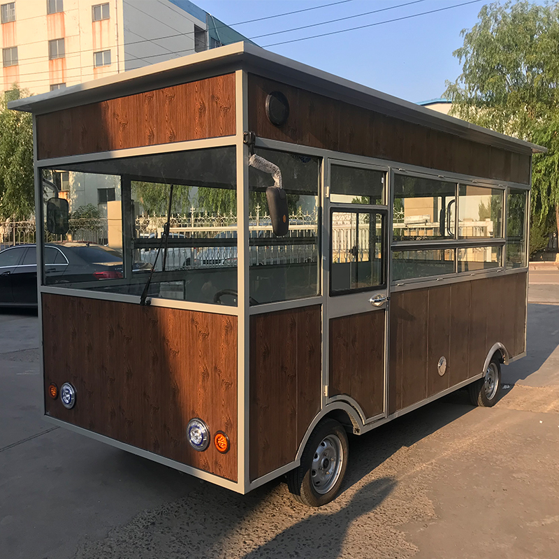 康派街景电动早餐移动小吃车商品流动车冰淇淋奶茶车烘焙美食车热销9件包邮
