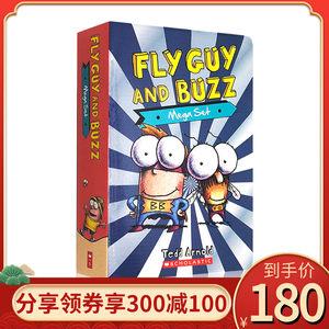 Fly Guy And Buzz 苍蝇小子分级读物15册 全彩英语初级章节桥梁书 儿童趣味读物 中小学生课外阅读 Tedd Arnold 英文原版绘本