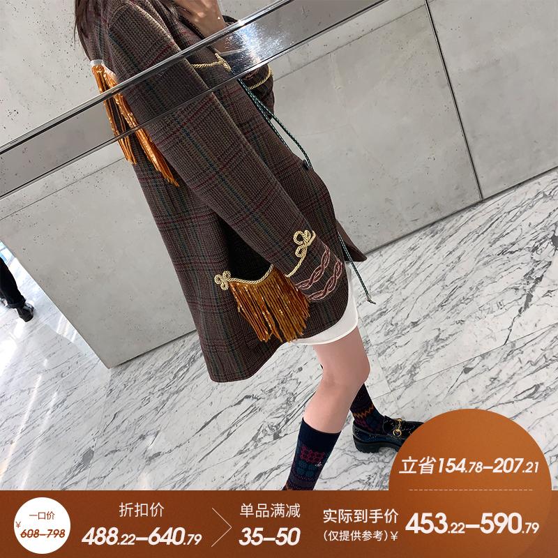 VT9190VW913974流苏西装怎么穿都好看好物分享直播9.29