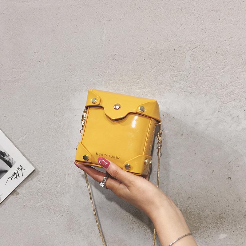 11月30日最新优惠迷你漆皮2019新款chic链条包零钱包