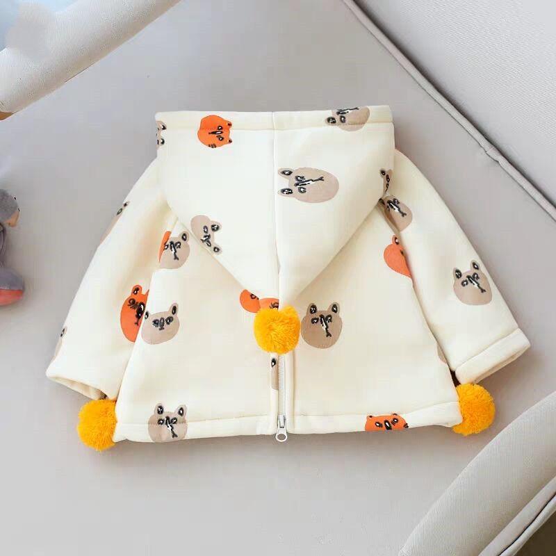 儿童男薄绒女宝宝春款韩版新款卫衣