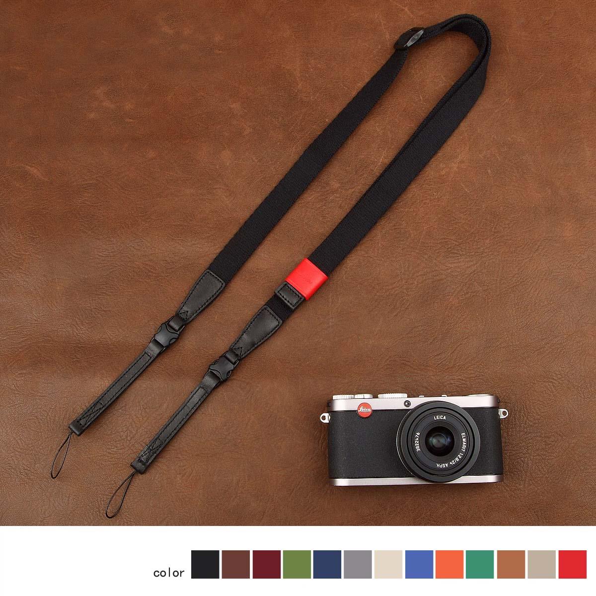 cam-in可调长度照相机背带 黑卡理光微单相机带肩带挂脖挂绳CS172