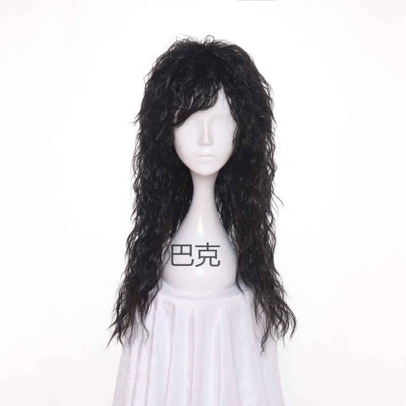 复古摇滚风80年代回忆杀长卷蓬松假发角色扮演时尚cosplay假发