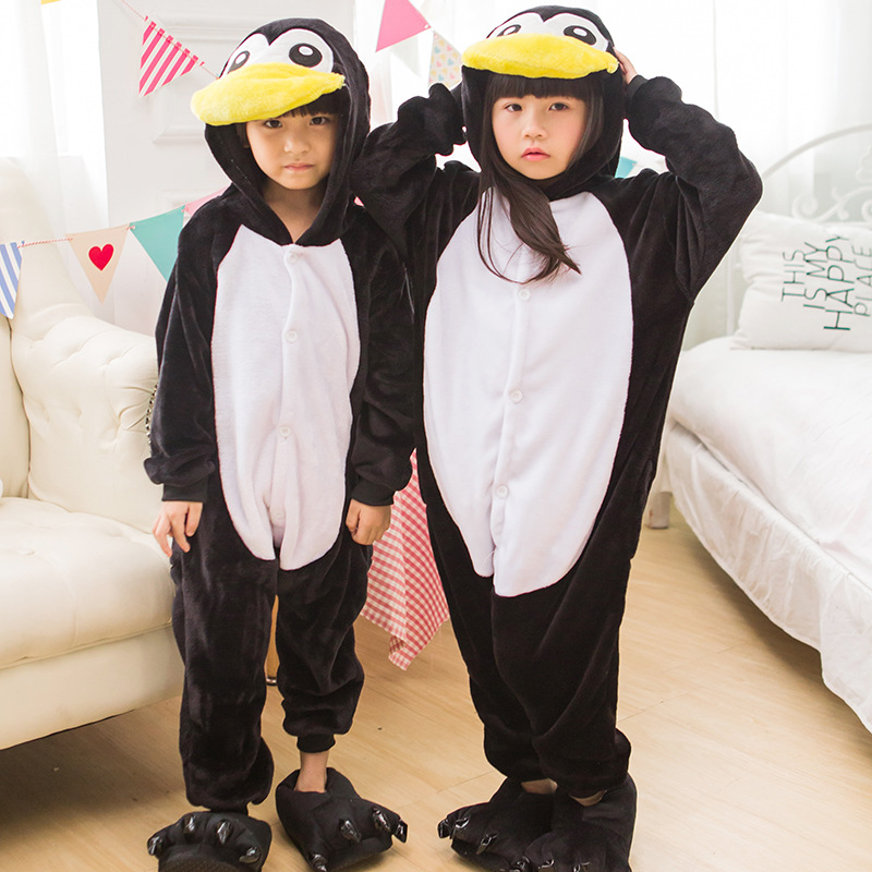 Cartoon movie Madagascar Penguin cos conjoined Costume Halloween animal role playing game