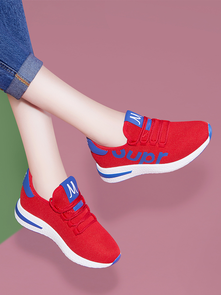 Ins sneakers womens 2019 spring and autumn new running womens shoes Korean version versatile leisure ghost step dance special small red shoes