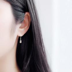 纯银耳环女耳钉小耳坠小巧精致超仙短款个性气质韩国简约百搭清新