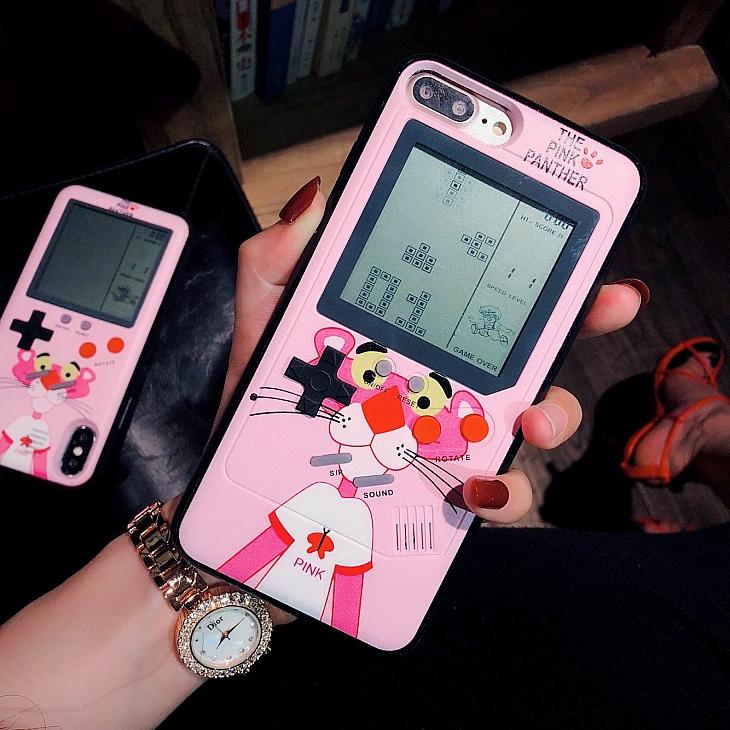 限时2件3折怀旧游戏机苹果x女减压解压手机壳