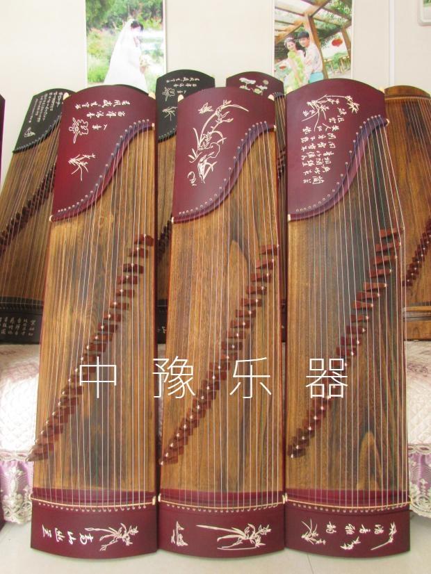 廠家直銷125型紅木刻字小古箏特價半箏兒童古箏練習古箏專業10級