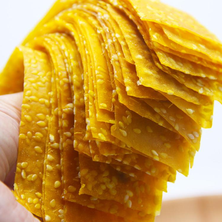 湖南平江特产2019农家diy手工红薯片零食番薯芝麻地瓜片小吃500g