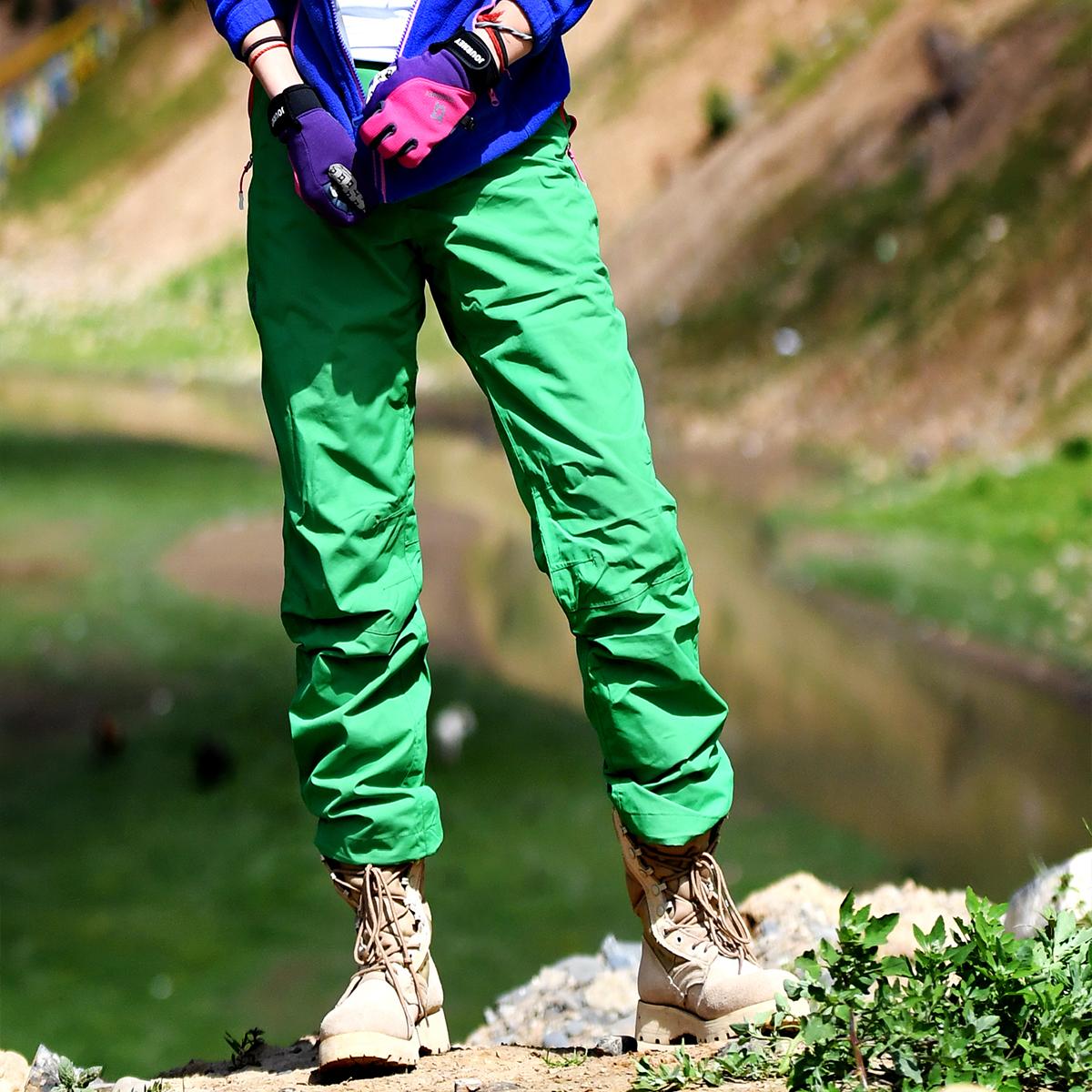 Пекин лес на открытом воздухе зима шерсть съемный вкладыш разгружать катание на лыжах пулемёт брюки водонепроницаемый воздухопроницаемый теплый женский