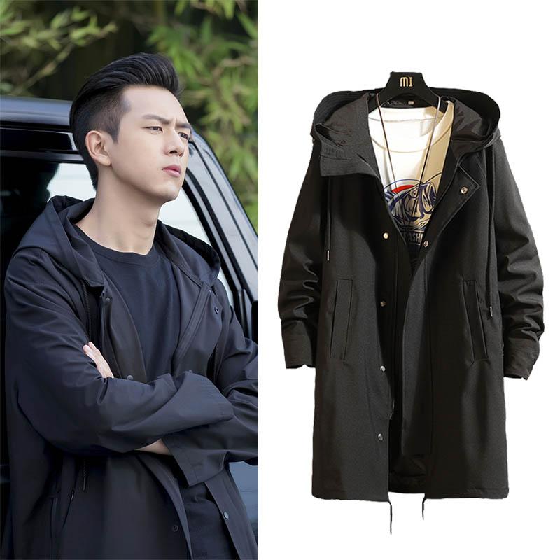 现男友李现韩商言kk战队同款风衣热销674件需要用券