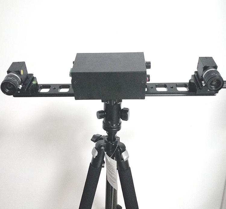三维重建3D扫描仪固定板 双目视觉支架 多CCD相机板 云台三脚架