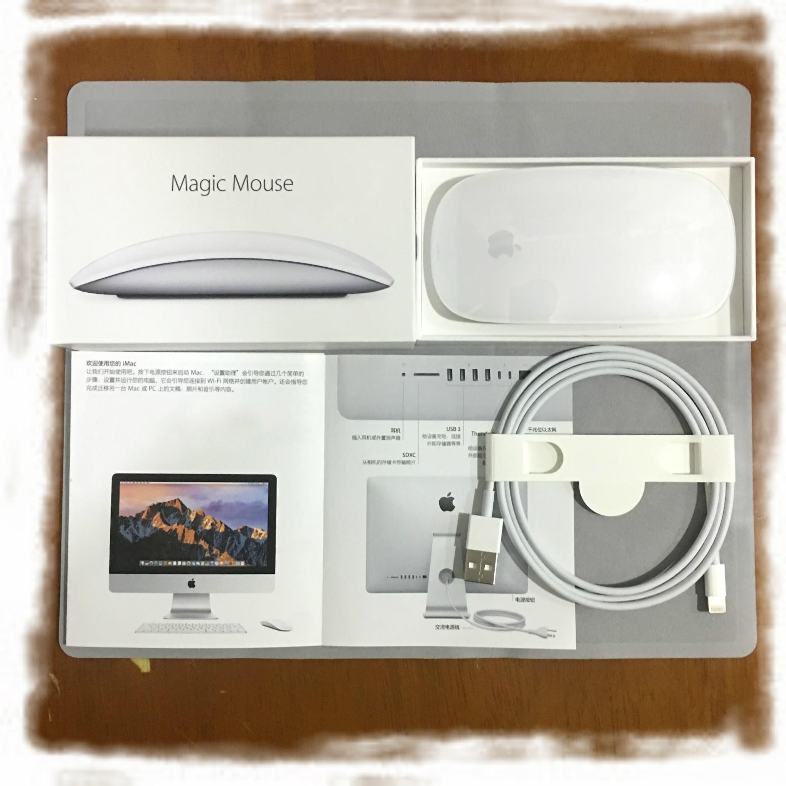 限2000张券苹果蓝牙鼠标magic mouse 2国行无线新款充电二代全新mac电脑鼠标