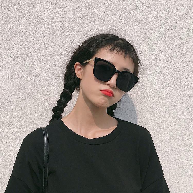 2020新款墨镜女ins韩版潮人网红个性圆脸街拍大框复古文艺太阳镜