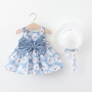 5-6-7-8-9個月女嬰兒連衣裙0-1-2-3-4歲女童寶寶純棉公主裙子夏裝