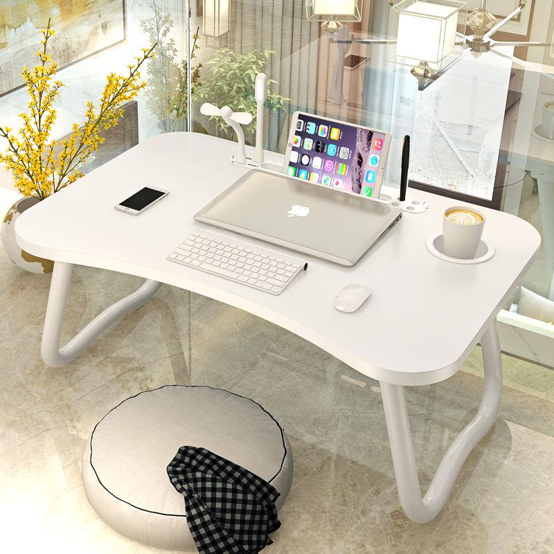 床上笔记本电脑桌书桌可折叠懒人学生宿舍儿童餐写字小桌子学习桌