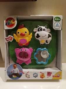 仙霸积木拼搭积木玩具儿童手抓板小动物拼图拼板早教益智玩具