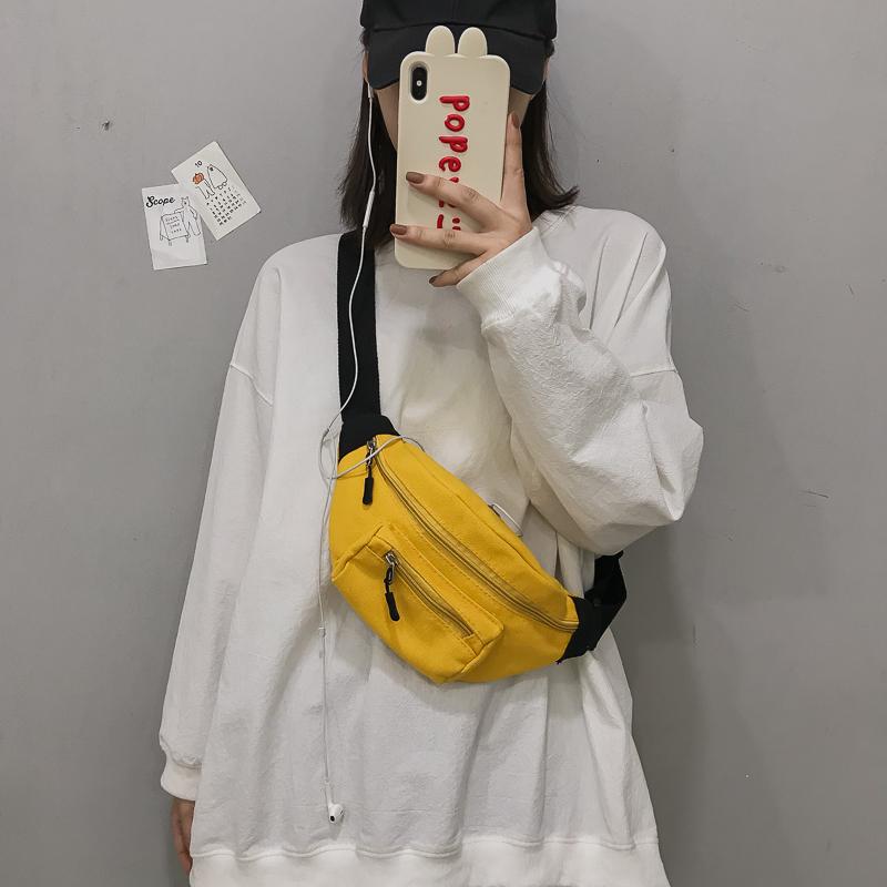 女2019新款斜挎百搭ins潮原宿胸包29.96元包邮