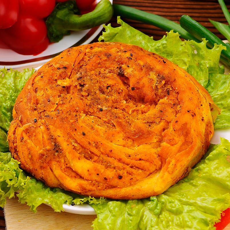 甘肃地方特产香酥饼酥馍特色美食小吃红糖豆沙饼锅盔烧饼满68包邮