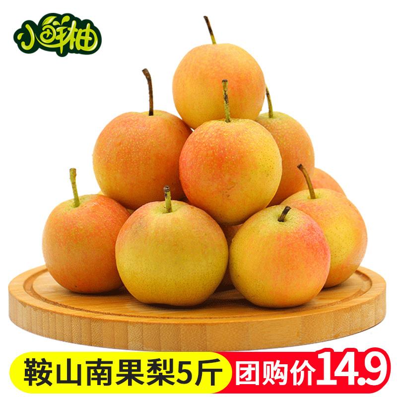【小鲜柚】辽宁鞍山南果梨5斤 东北特产香水南国梨子新鲜水果包邮