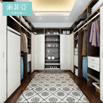 Sofia Cloakroom Custom Walk-in cloakroom custom-made type open cloakroom wardrobe customization