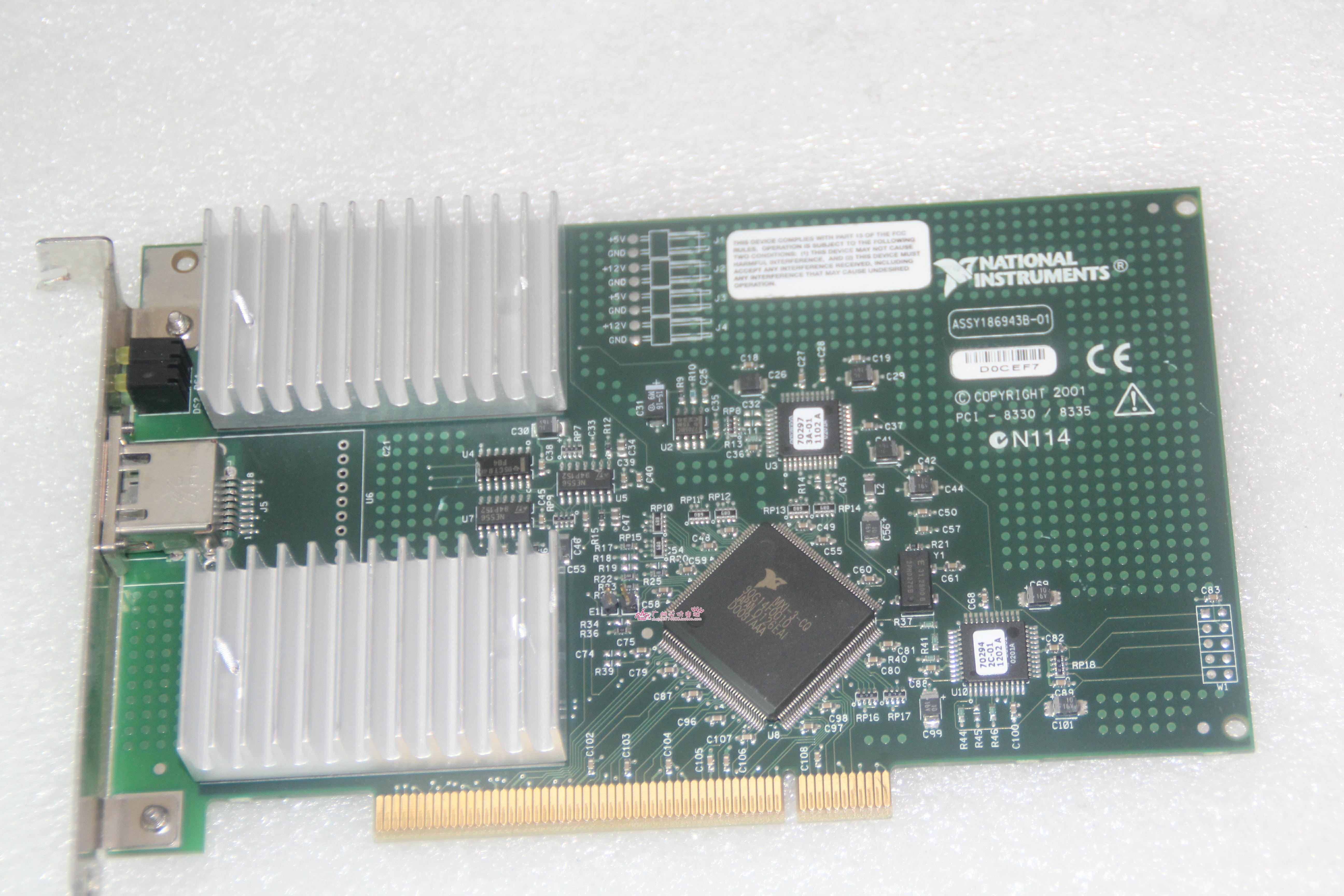 美国 NI PCI-8330 / 8335 MXI-3 通信卡 用于PC控制
