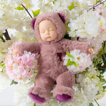 Рождество подарок большой размер спальный моделирование кукла плюш кукла маленький старый иностранных смешивать кровь ребенок сопровождать сон успокаивать игрушка