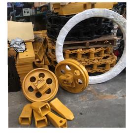 卡特推土机零配件履带底盘 齿轮盘 驱动齿 支重轮 托轮 引导轮D