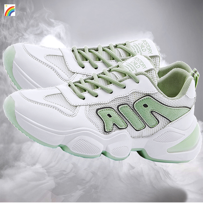 European station womens shoes 2020 new summer white tourist shoes womens hollow, breathable, casual, fashionable, thin, super light