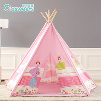 Ai Sheng Indian childrens tent indoor game house large space five cute princess tent girl Home