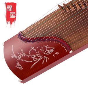 【豫音民乐】古筝 普及古筝 仿红木考级专用练习古筝 多样式可选