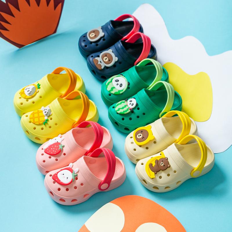 宝宝幼儿室内家居防滑软底夏洞洞鞋评价如何
