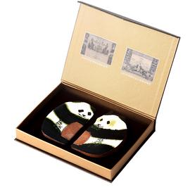 白象常州梳篦送老外礼物熊猫中国风特色出国商务外事手工艺礼品