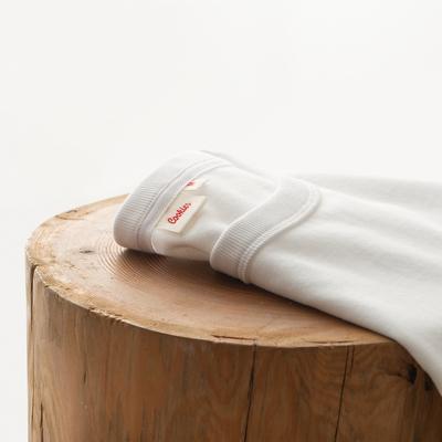 Cookies 19SS 230G碳素磨毛阿美咔叽圆领不透纯白色短袖T恤男女款