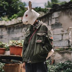 兔先森夹克男MA-1飞行员棒球服潮牌余文乐男装美式工装空军外套潮