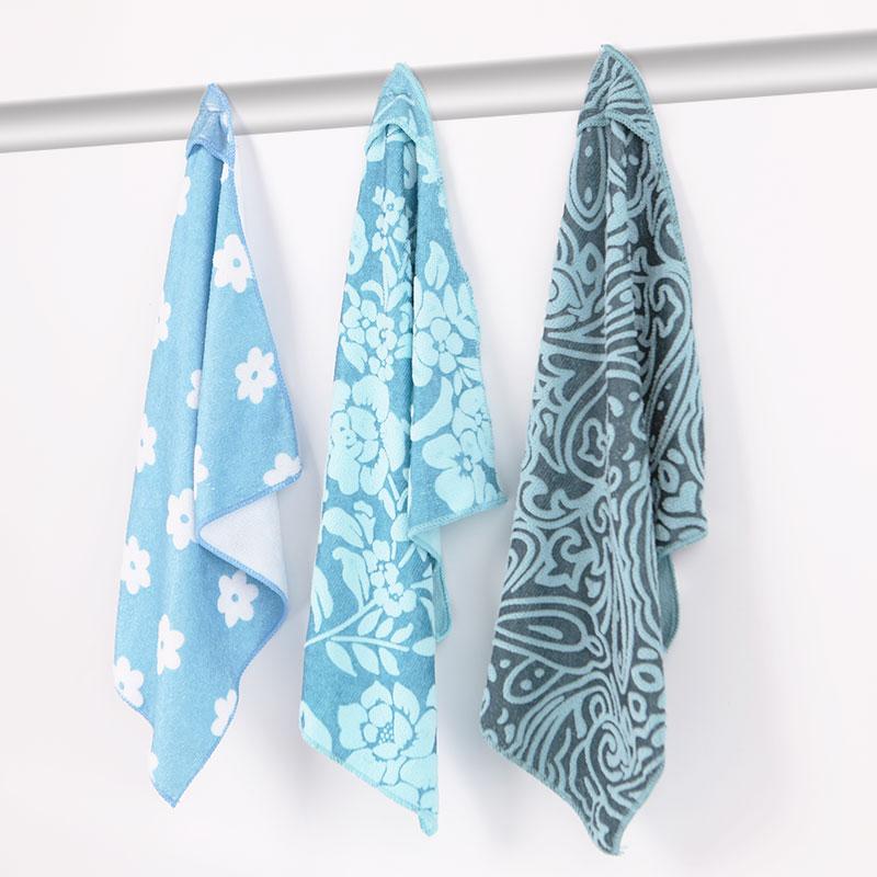 魔术磁力擦手巾多功能涤锦超细纤维厨卫清洁布30*40cm11.9元3条