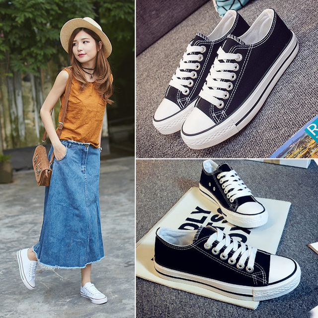 Spring 2020 new versatile personalized canvas shoes womens high top print graffiti student flat casual lace up board shoes