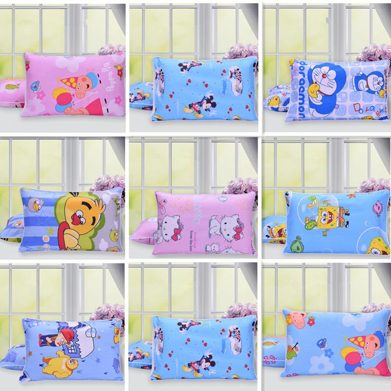儿童枕头3-6岁幼儿园四季通用小孩枕全棉婴儿小宝宝幼儿园午睡枕